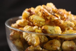 lemon pepper nuts recipe